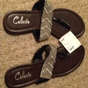 Women's really cool sandals by Celeste size 6 NWT